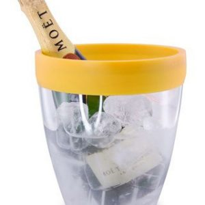 Pulltex Silicone Top Ice Bucket – Yellow