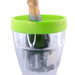 Pulltex Silicone Top Ice Bucket – Green
