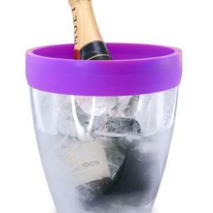 Pulltex Silicone Top Ice Bucket – Purple