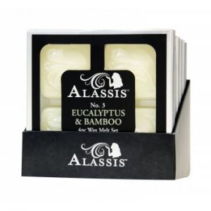 Alassis No. 3 Eucalyptus And Bamboo Wax Melts