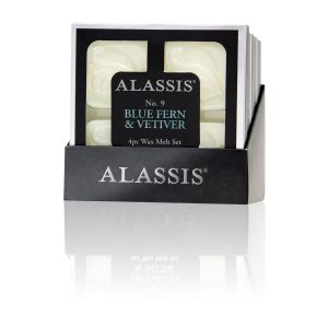 Alassis No. 9 Blue Fern & Vetiver Wax Melts