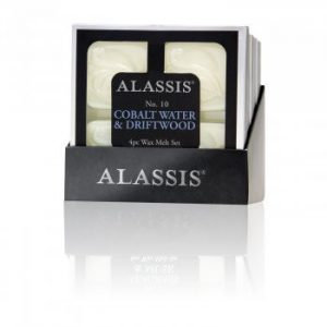 Alassis No.10 Cobalt Water & Driftwood Wax Melts