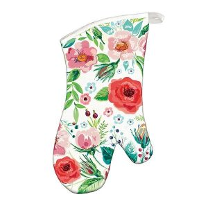 MDW Oven Mitt – Wild Berry Blossom