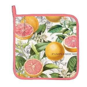 MDW Pot Holder – Pink Grapefruit