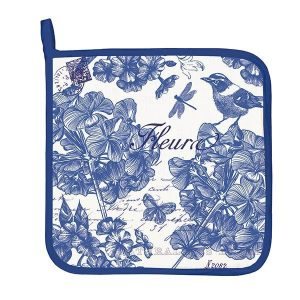 MDW Pot Holder – Indigo Cotton