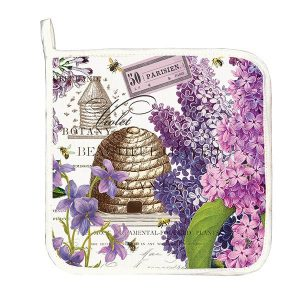 MDW Pot Holder – Lilac And Violets