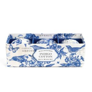 MDW Bath Bomb Set – Indigo Cotton