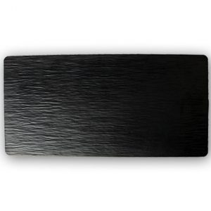 Bella Tavolo Earth Slate Tray Black Melamine