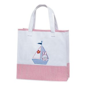 Elegant Baby Tote Bag Nautical Girl