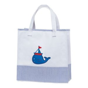 Elegant Baby Tote Bag Nautical Boy