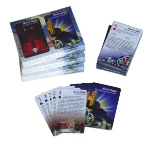 Finders Forum Movie Night Trivia Playing Cards