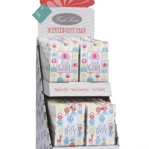 Fresh Scents – Gift Tag Display Girl/Boy