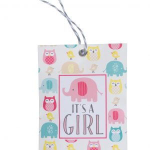 Fresh Scents – Gift Tag It's A Girl