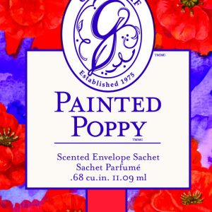 Greenleaf Painted Poppy Small Sachet