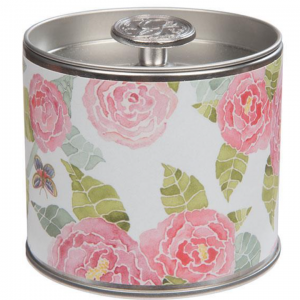 Greenleaf Peony Bloom Signature Tin Candle