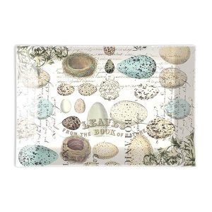 MDW Glass Rectangle Soap Dish – Nest & Eggs
