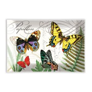 MDW Glass Rectangle Soap Dish – Papillon