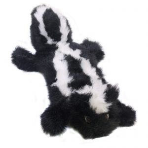 Kyjen Long Body Squeaker Mat Skunk