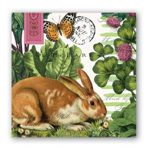 MDW Cocktail Napkins – Garden Bunny