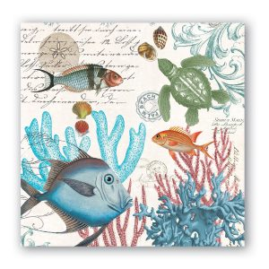 MDW Cocktail Napkins – Sea Life