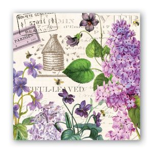 MDW Cocktail Napkins – Lilac And Violet