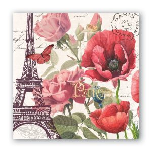 MDW Cocktail Napkins – Toujours Paris