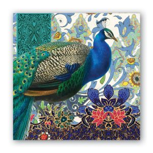 MDW Cocktail Napkins – Peacock
