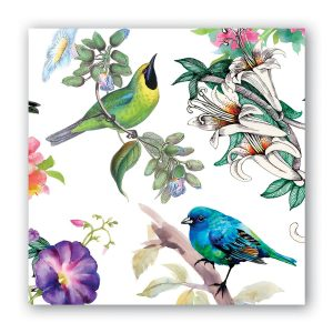 MDW Cocktail Napkins – Bird Song