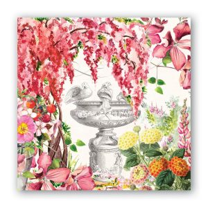 MDW Cocktail Napkins – In The Garden