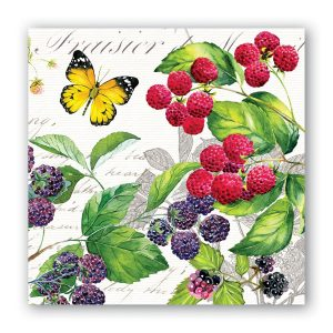 MDW Cocktail Napkins – Berry Patch