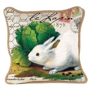 MDW Decorative Pillow Square – Bunny