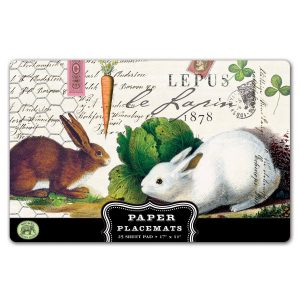 MDW Paper Placemats – Lapin