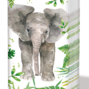 PPD Sniff Tissues – Tropical Elephant
