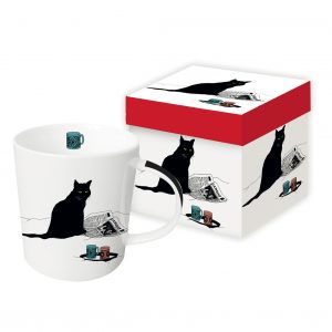 PPD Mug Black Cat Journal