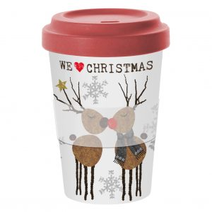 PPD Mug Travel Bamboo We Love Xmas