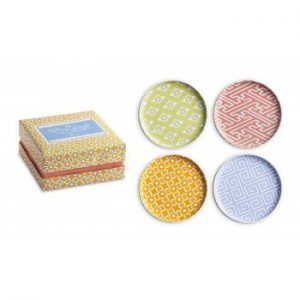 Rosanna Calypso Set 4 Assorted Plates