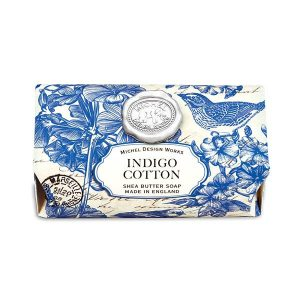 MDW Large Soap Bar – Indigo Cotton