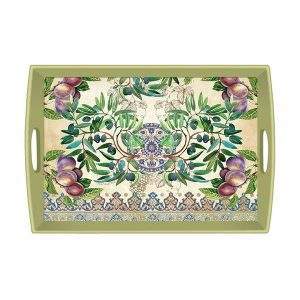 MDW Wooden Decoupage Large Tray – Tuscan Grove