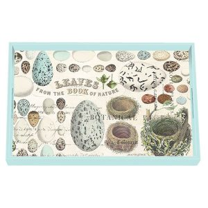 MDW Wooden Decoupage Vanity Tray – Nest & Eggs