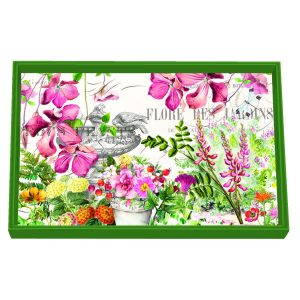 MDW Wooden Decoupage Vanity Tray – In The Garden