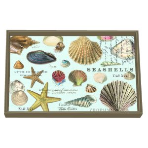 MDW Wooden Decoupage Vanity Tray – Seashells
