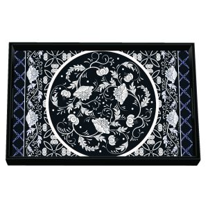 MDW Wooden Decoupage Vanity Tray – Bouquet